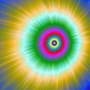Psychedelic Explosion Stock Illustration