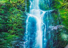 Beautiful waterfall Stock Photos