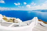 Stock Photo of santorini island, greece