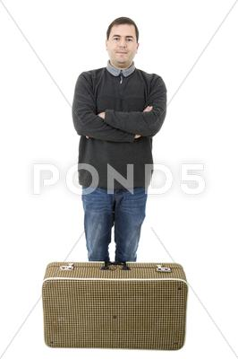 Stock photo of traveler