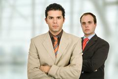 business men - stock photo