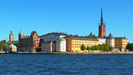 Stock Video Footage of Old Town in Stockholm, Sweden