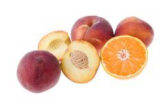 fruits isolates - stock photo