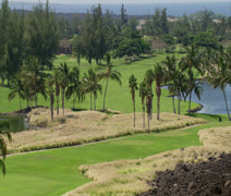 Waikoloa Beach Resort Golf Course – Kings' Course - stock footage