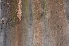 grunge pattern on concrete - stock photo