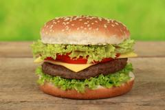 Cheeseburger Stock Photos