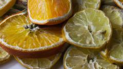 Oranges and lemons HD timelase 5 Stock Footage