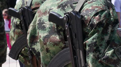 Machine Guns Stock Footage