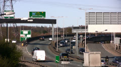 North Circular Road in Greater London Stock Footage