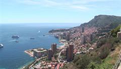 Monaco Montecarlo cityscape - stock footage