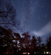 Starry Sky in North Carolina Stock Photos