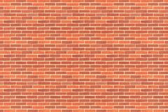 Pattern of brick walls Stock Illustration
