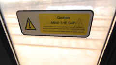 Mind the Gap. Stock Footage