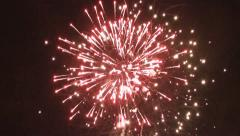 Fireworks 2 Stock Footage