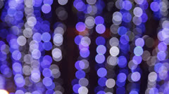 Out of focus spot lights as background - stock footage