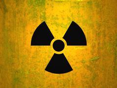 radioactivity - stock photo