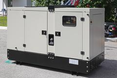 power generator - stock photo