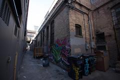 Dirty Alleyway Stock Photos