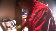 Master Craftsman Stock Footage