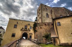 buchlov castle - stock photo
