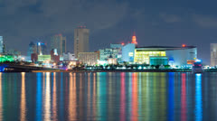 American Airlines Arena in Miami Stock Footage