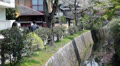 People walking on The Philosopher's pathway at spring season, Kyoto, Japan Footage