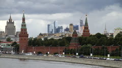 Moscow, Russia 03 Stock Footage