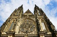 Stock Photo of saint vitus cathedral, prague, czech republic
