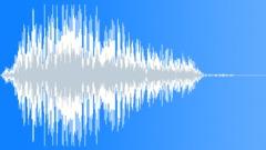 Male loud hit scream - sound effect