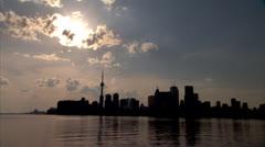 Toronto Skyline Stock Footage