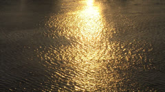 Speed boat in the rays of sunset - stock footage
