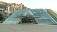 Monaco Grimaldi Forum Stock Footage