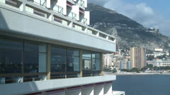 Monaco View Stock Footage