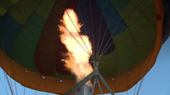 Hot Air Balloon 3 Stock Footage