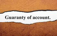 Stock Illustration of guaranty of account