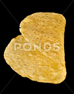 Stock photo of taco crunchy shell