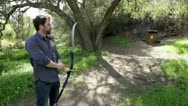 Archery Practice Wide Stock Footage