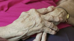 Arthritic Hands - stock footage