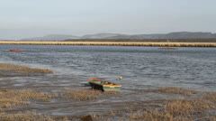 River Tay from Newburgh Fife Scotland Stock Footage