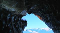 Svinaffellsjokull glacier, Skaftafell, Iceland  11 Stock Footage