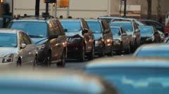 Traffic Congestion Stock Footage