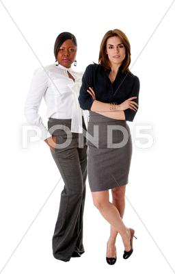 Stock photo of beautiful business women