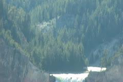 Watefall Yellowstone Park Stock Footage