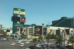 MGM Hotel Stock Footage
