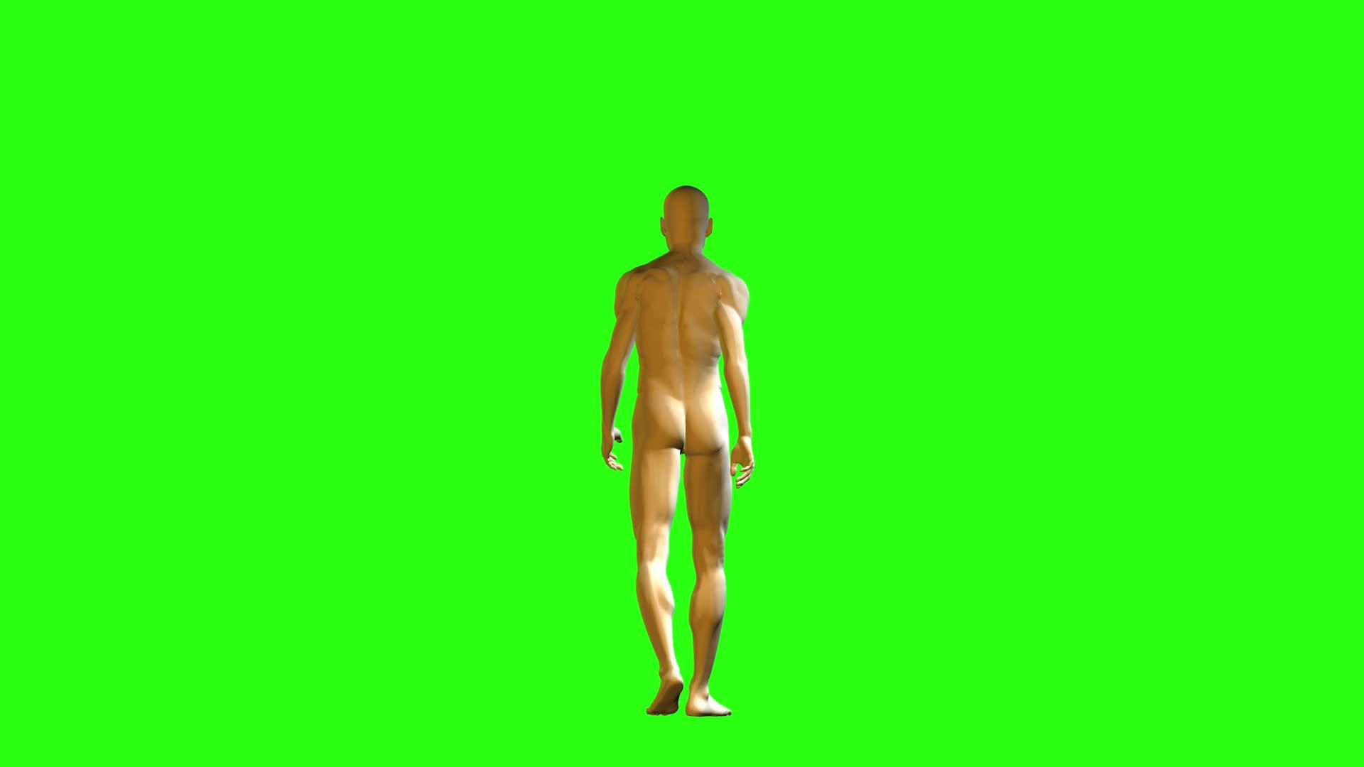 Naked Man Walking 84