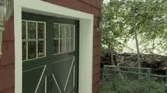 Burglar Opens Door Stock Footage