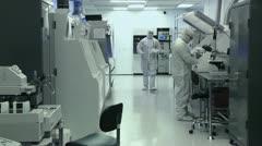 Clean Lab ELS Stock Footage