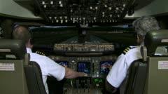 Jumbo Jet Take-off Stock Footage