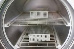 Medical equipment, high-temperature sterilization Stock Photos
