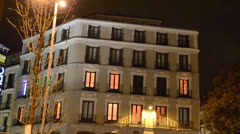 Hotel in the area of Madrid 2 Stock Footage